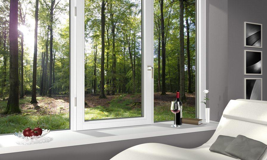 Fenster spielen in der Wirkung von Wohnzimmern eine grosse Rolle. (Bild: Wilm Ihlenfeld / Fotolia.com)