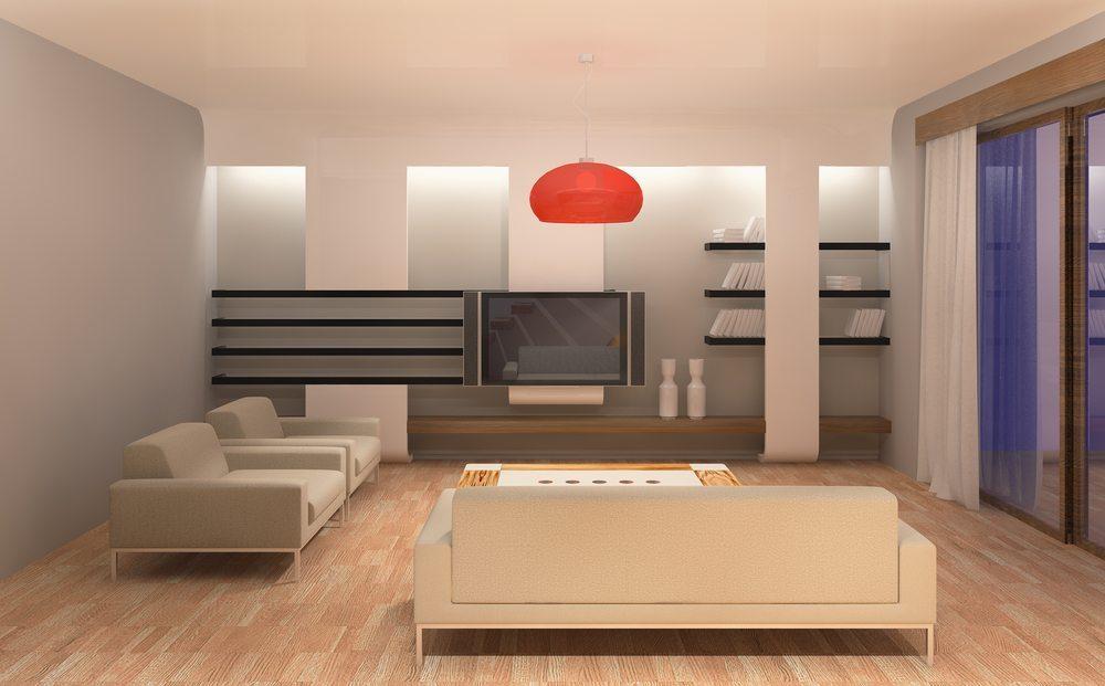wohnzimmer ganz gross luftige raumgestaltung mit regalen. Black Bedroom Furniture Sets. Home Design Ideas