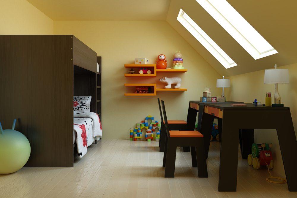 Helle Farben unterstreichen den Lichteinfall. (Bild: Toncsi / Shutterstock.com)