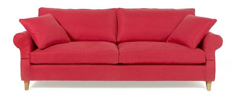 Ein gemütliches Sofa darf im Wohnzimmer nicht fehlen. (Bild: © Ad Oculos - shutterstock.com)