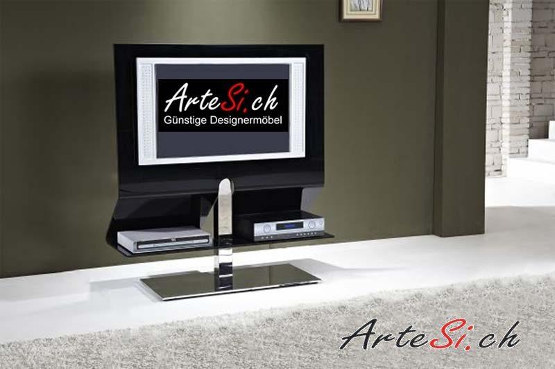 Ein TV-Tisch, der zu schweben scheint: JACK Nero. (Bildquelle: ArteSi.ch)