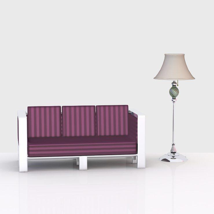 Ein schickes Sofa gibt es für jeden Geschmack. (Bild: © martina - Fotolia.com)