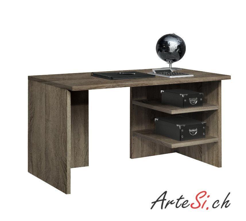 Der WORK DESIGNER Schreibtisch kann mit allen Elementen der WORK-Serie kombiniert werden. (Quelle: artesi.ch)
