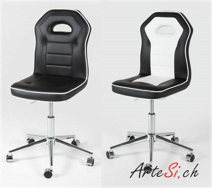 Der PENGUIN Bürostuhl überzeugt durch sein schlichtes und schnörkelloses Design. (Bild: © ArteSi.ch)