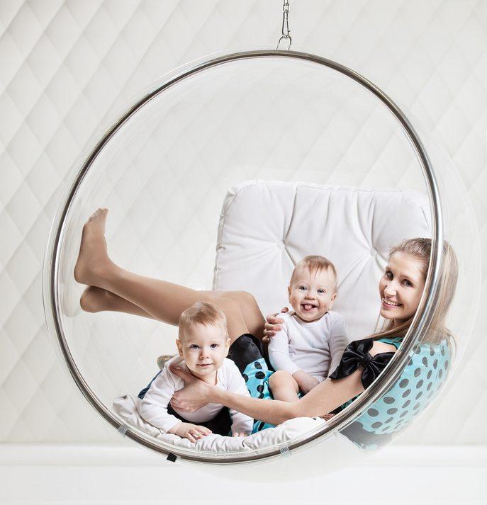 Hängesessel für Innenräumen. (Bild: Photobac / Shutterstock.com)