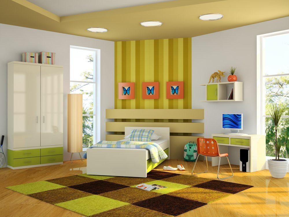 Vier einfache Grundregeln für schmale Zimmer › moebeltipps.ch