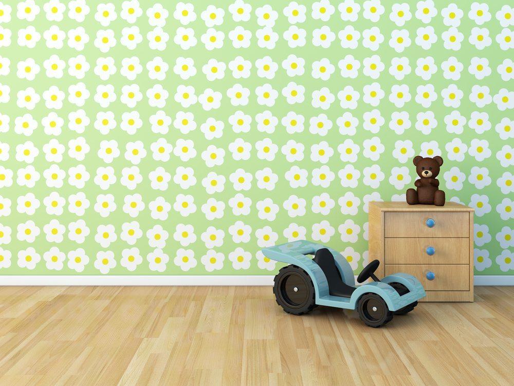 Laminat im Kinderzimmer. (Bild: hkeita / Shutterstock.com)