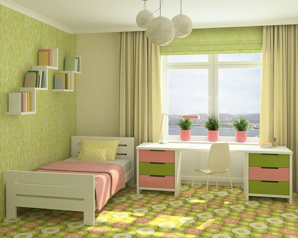 Schmale Räume sind anspruchsvoll einzurichten. (Bild: Tr1sha / Shutterstock.com)
