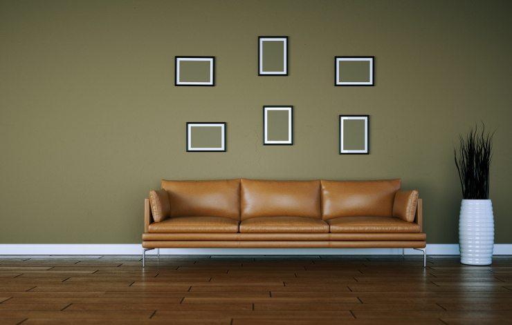 Ein Ledersofa macht sich in jeder Wohnung gut. (Bild: © virtua73 - Fotolia.com)