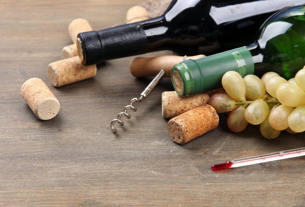 Lagern Sie Ihren erlesenen Wein in einem Weinkühlschrank und geniessen Sie perfekt temperierten Wein auch zuhause. (Bild: Africa Studio / Shutterstock.com)