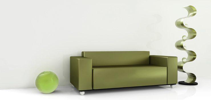 Das Zimmer sollte ein stimmiges Gesamtbild mit dem Ledersofa abgeben. (Bild: © Avanne Troar - fotolia.com)