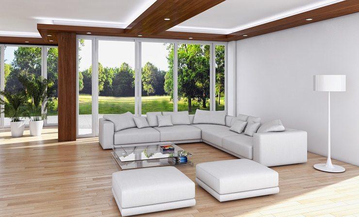Bei einer stilvolle Wohnungseinrichtung darf eins nicht fehlen: die richtige Polstergruppe. (Bild: © 3darcastudio - fotolia.com)