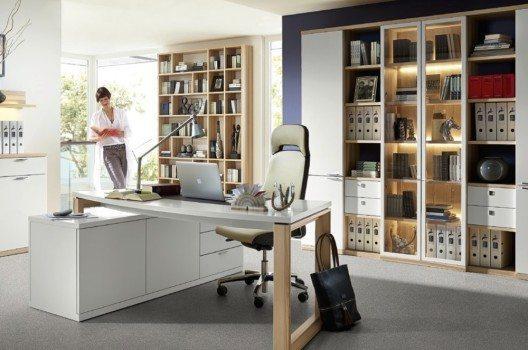 home office in kleinen r umen den arbeitsplatz geschickt