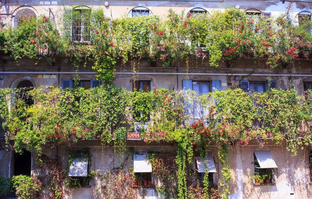 Das antike Vorbild: Die Hängenden Gärten von Babylon (Bild: © bepsy - shutterstock.com)