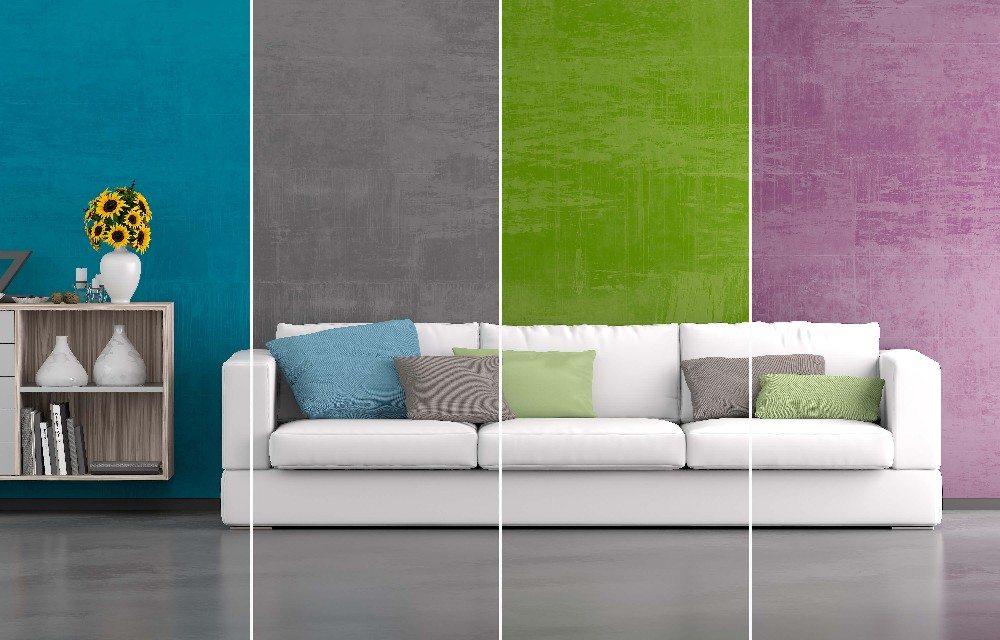 Zeit für Farbenspiele und Tapetenwechsel: Wände und Decken ...