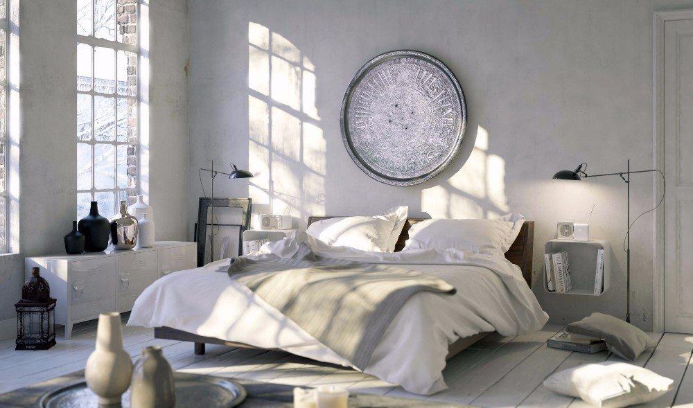 Ein cooles Schlafzimmer muss gar nicht teuer sein. (Bild: © Christian Hillebrand - fotolia.com)