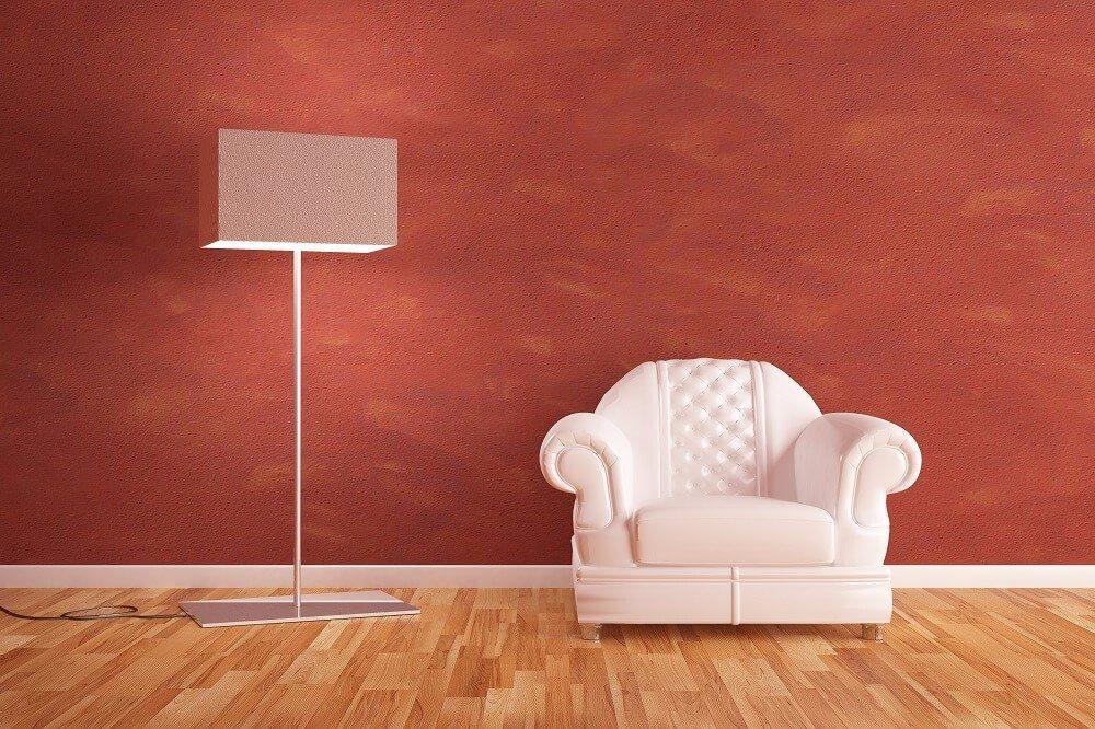 Verputzen ist eine gute Alternative für alle, die zum Tapezieren keine Lust haben. (Bild: © Sergione - fotolia.com)