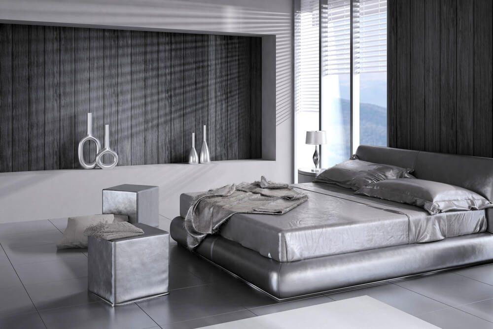 Moderne Schlafzimmergestaltung - vor allem eine Frage des persönlichen Geschmacks. (Bild: © PlusONE - shutterstock.com)