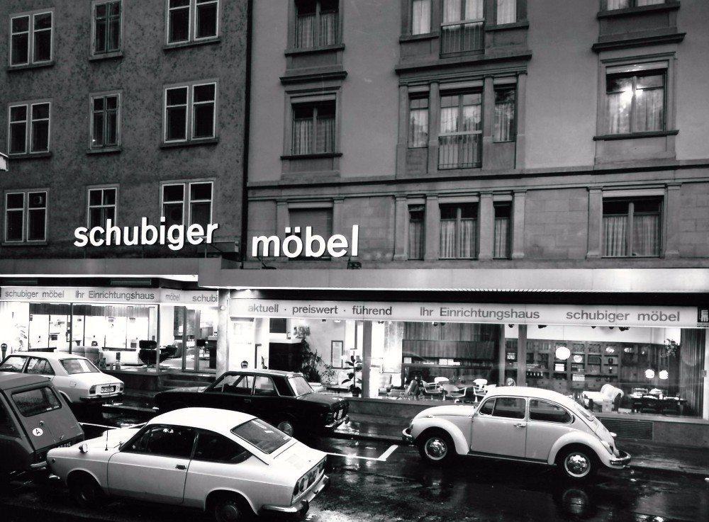 Schubiger Möbel ist Zürichs grösstes Einrichtungshaus und zweitältestes Familienunternehmen.