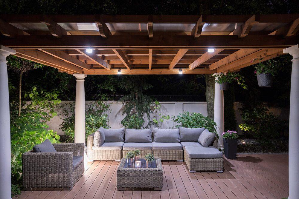 Angemessene Aussenbeleuchtung ist im ganzen Garten wichtig. (Bild: © Photographee.eu - shutterstock.com)