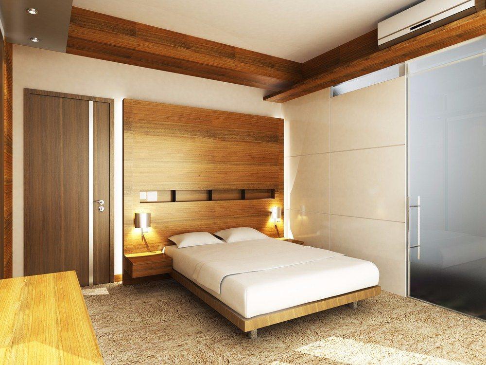 Den Schlafraum mit einem exklusiven Holzbett schmücken ...