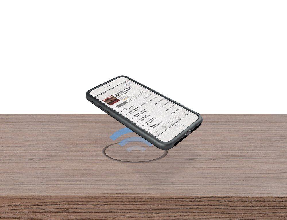Smartphone laden ohne Kabel - Spectral-Möbel mit Wireless Charging Technologie (Bild: © obs/Spectral Audio Möbel GmbH)