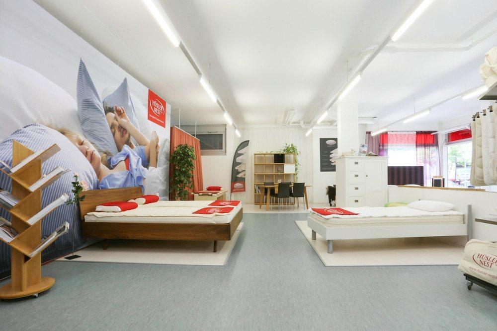 Hüsler Nest Center Chur - die richtige Adresse für gesunden Schlaf.