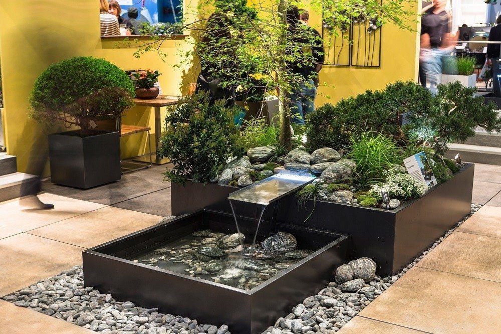 Die Giardina zeigt eine neue Sinnlichkeit im Garten.