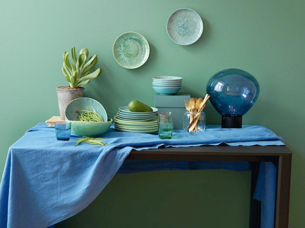 Farbige Keramik für mediterranes Lebensgefühl