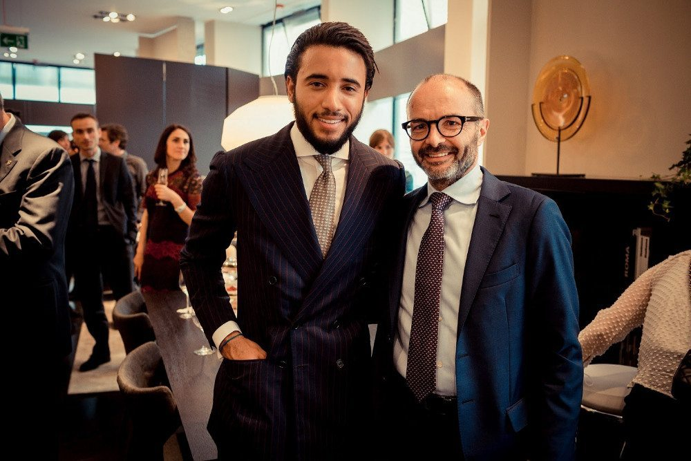 Pasquale Junior Natuzzi und Stefano Rezzin (Bild: Natuzzi S.p.A.)