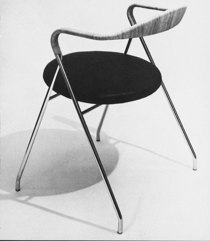 Hans Eichenberger, SAFFA, Stuhl, 1955. (Bild: Hans Eichenberger, Herrenschwanden / courtesy Design Center Langenthal, Hans Eichenberger)