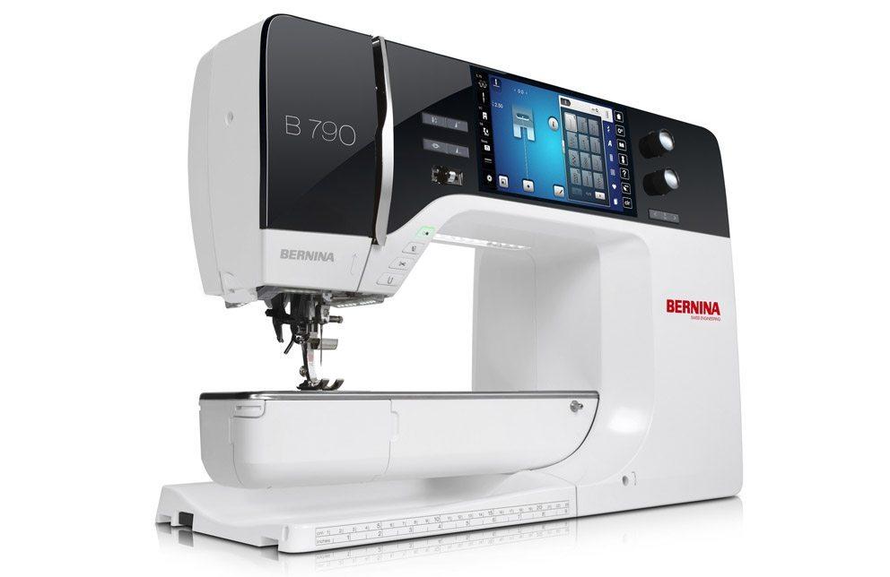 Maschinen wie die BERNINA 7er Serie ermöglichen neben klassischen Näharbeiten die Herstellung von Quilts. (Bild: Bernina)