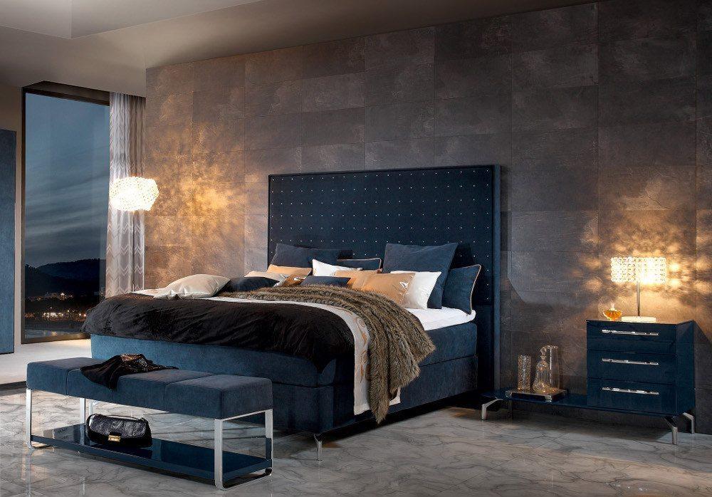 Natürliche Farbtöne tragen im Schlafzimmer zum Relaxen bei. (Bild: VDM/Hülsta)