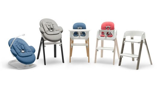HANDOUT - Der Steps bietet den Kleinen von Geburt an eine sichere und komfortable Umgebung mit viel Bewegungsfreiheit. Jetzt gibt es den Kinderhochstuhl von Stokke in neuen Farben und in zwei verschiedenen Holzarten. Fuer noch mehr Individualitaet und passend zu jeder Einrichtung. (PHOTOPRESS/Stokke)