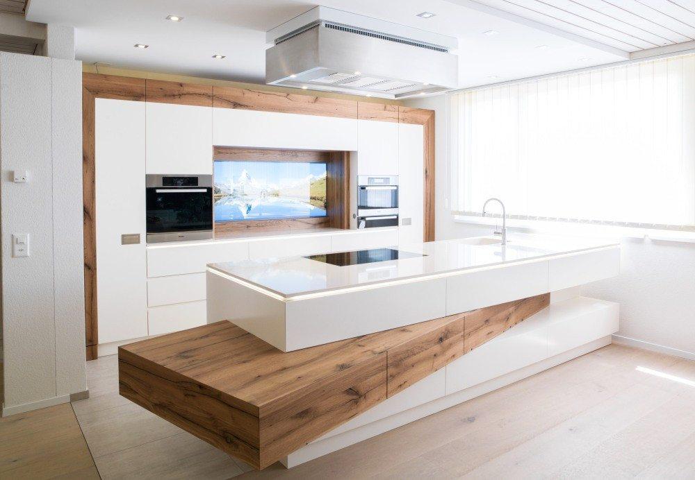 Küche – der schönste Arbeitsplatz zu Hause. (Bild: bauen-modernisieren.ch)