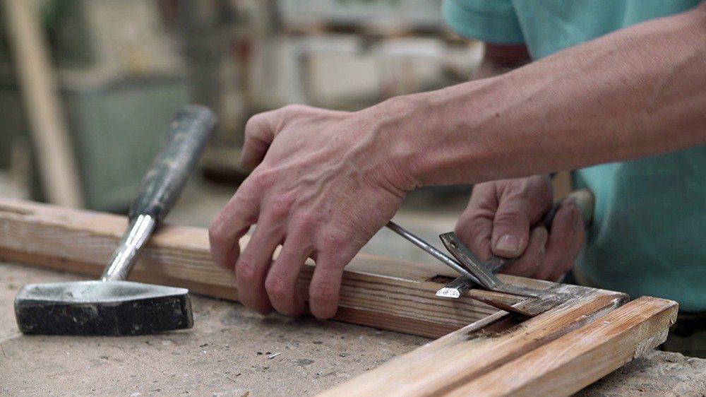 Restaurierung eines Kastenfensters. (Bild: © VFF/ Hans Timm Fensterbau)