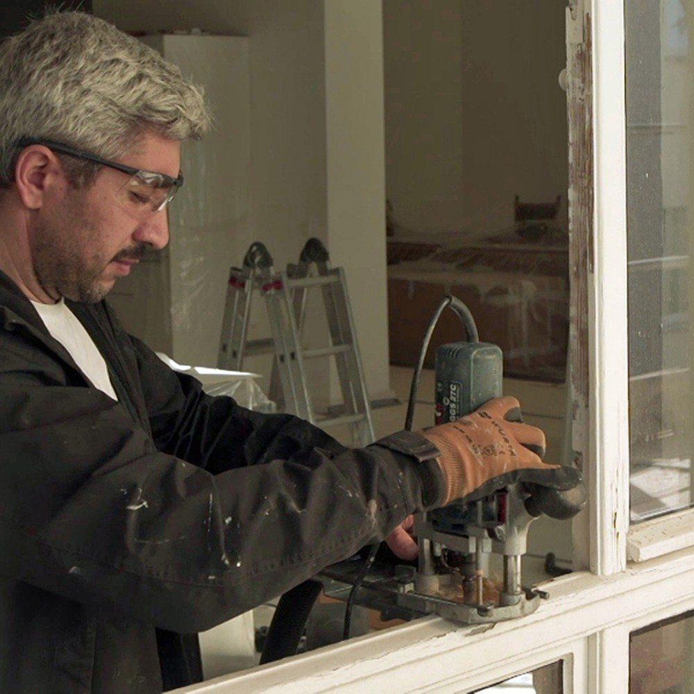 Arbeit am Kastenfenster. (Bild: © VFF/ Hans Timm Fensterbau)