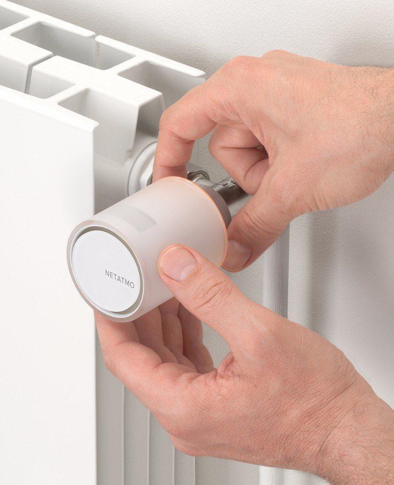 Heizung fernsteuern, überwachen und Energie sparen: Heizkörperthermostate von Netatmo. (Bild: © Netatmo)