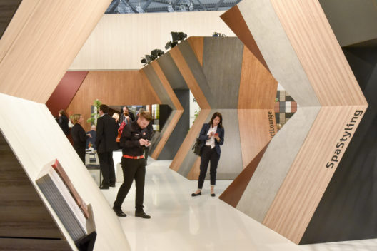 Stand: resopal, Materials & Nature, Halle 6