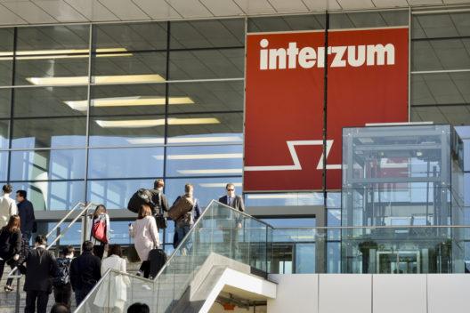 Eingang Süd, Interzum Logo