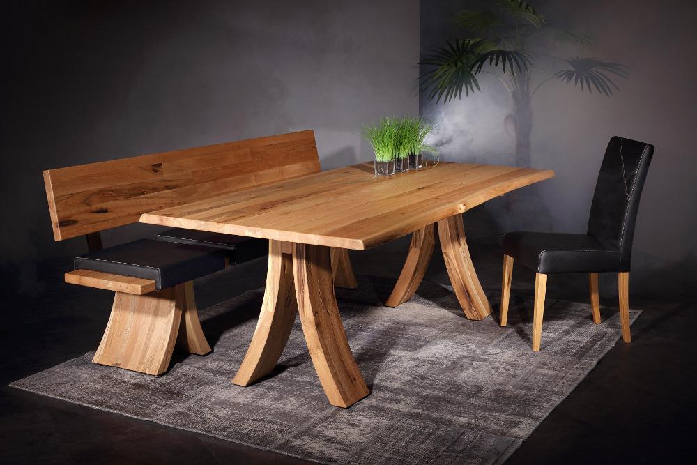 Tisch Arcobello Sumpfeiche mit Bank