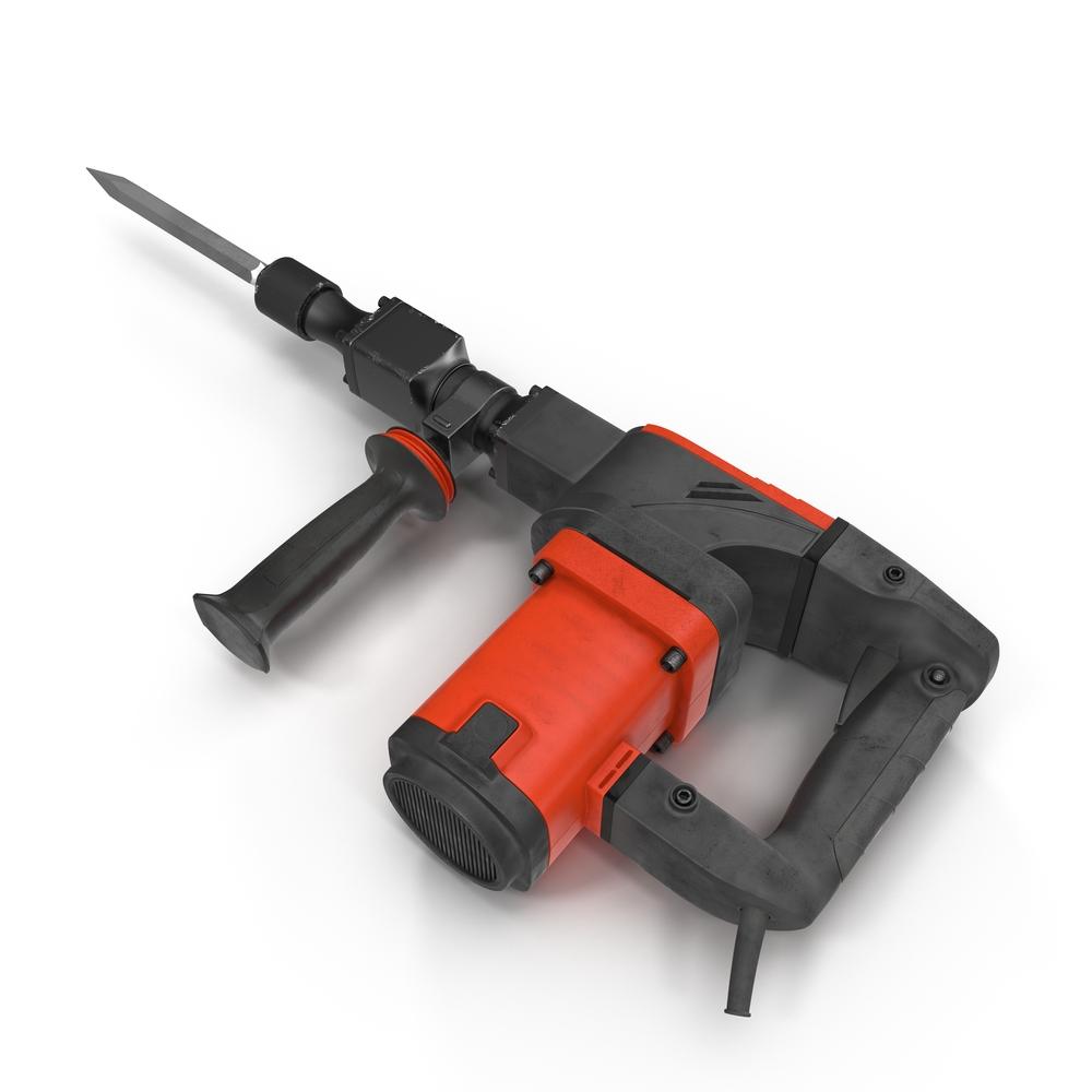 Kraftvolles Arbeitsgerät - der Bohrhammer (Bild: 3DMI - shutterstock.com)