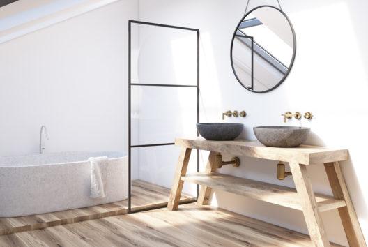 feature post image for Holz im Bad gekonnt einsetzen