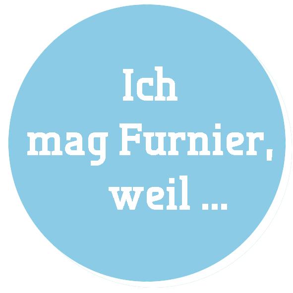 """Logo der IFN-Kampagne """"Ich mag Furnier, weil …"""" (Bild: IFN)"""