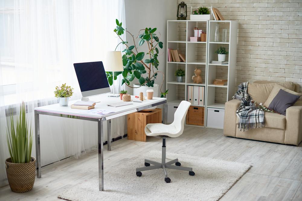 Maximalen Komfort bei der Arbeit zuhause geniessen (Bild: SeventyFour - shutterstock.com)