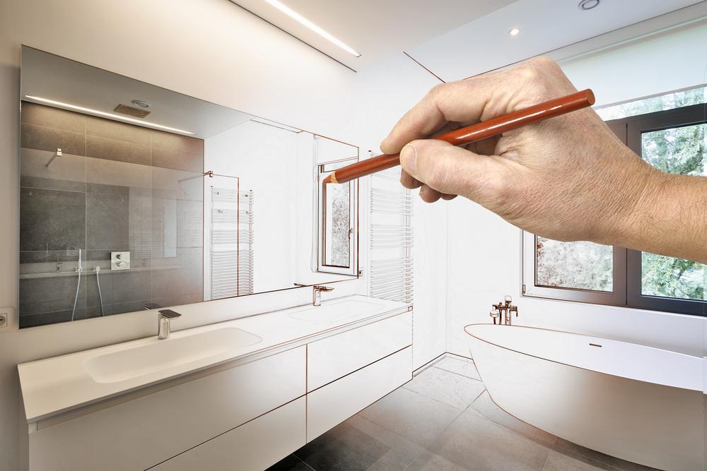 Während bei manch einer Schönheitsreparatur im Bad selbst Hand angelegt werden kann, muss bei der Modernisierung oder zur Behebung ernsthafter Schäden oft ein Fachmann ran. (Bild: CapturePB - shutterstock.com)